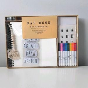 NWT Rae Dunn DIY sketchbook kit